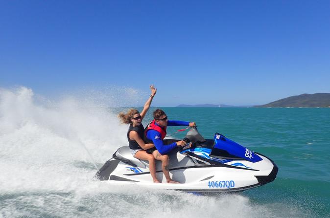 Whitehaven Beach Cruise And Jetski Snorkeling Adventure - Airlie Beach