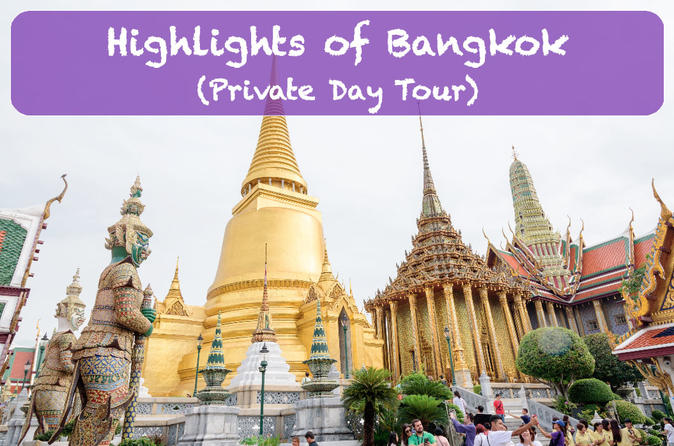 Highlights von Bangkok (private eintägige Tour)