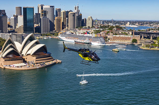 Private Helicopter Tour: 20-Minute Sydney Harbour and Coastal Flight with Transfers
