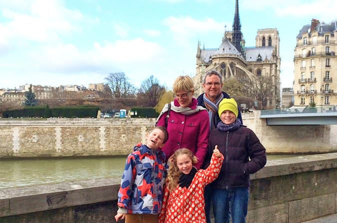 Kids and Families Notre Dame of Paris including Towers and Ile de la Cité Tour