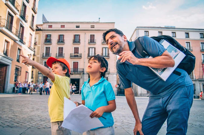 Madrid City Highlights Private Tour for kids and families