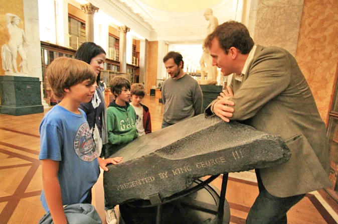 Small Group London British Museum Tour for Kids and Families