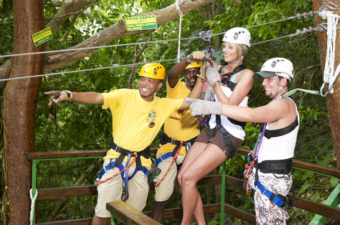 Ocho Rios Shore Excursion: Sky Explorer and Zipline at Mystic Mountain