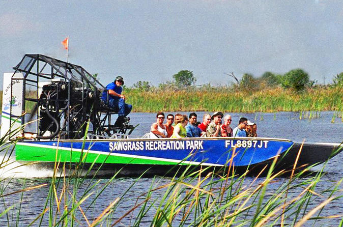 Florida everglades airboat adventure and wildlife encounter ticket in fort lauderdale 169681