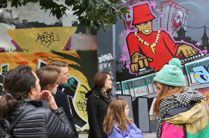Street Art Family Walking Tour & Workshop in Paris