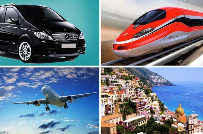 Private Transfer: from Naples (hotel-airport-train station) to Positano (hotel)