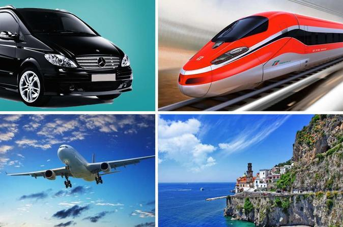 Private Transfer: from Rome (hotel-airport-railway station) to Amalfi (hotel)