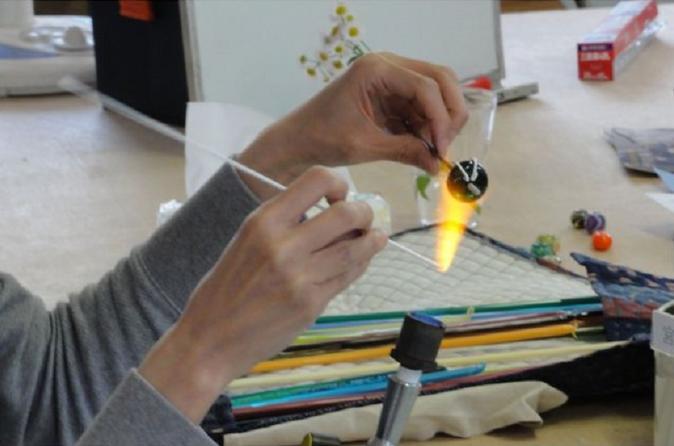 Experience Burner glasswork activity