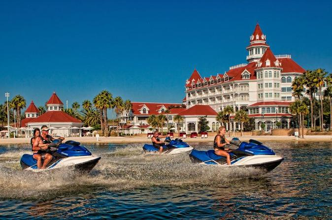 Aventura de jet ski no Disney's Contemporary Resort