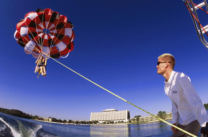 Tandem Parasailing at Disney's Contemporary Resort