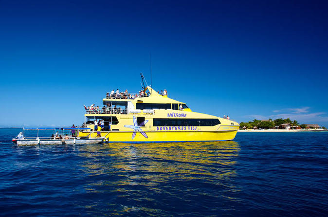 Yasawa and mamanuca islands hop on hop off pass in denarau island 116400