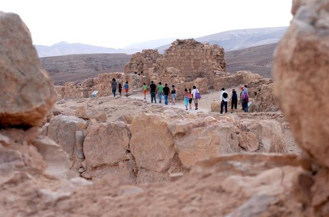Excursão privada: Viagem diurna para Masada e Mar Morto saindo de Jerusalém
