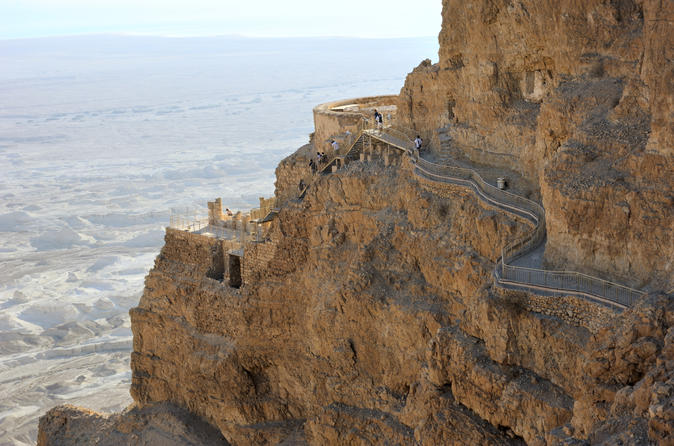 Masada and Ein Gedi Nature Reserve Day Trip from Tel Aviv