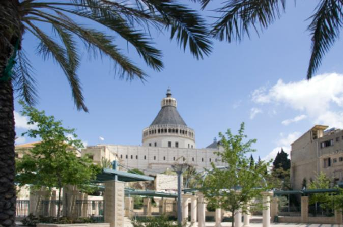 Private tour nazareth tiberias and sea of galilee day trip from tel in tel aviv 43234
