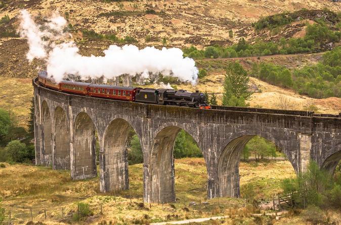 Excursão de três dias à Ilha de Skye e às Terras Altas escocesas saindo de Edimburgo, incluindo o passeio Hogwarts Express