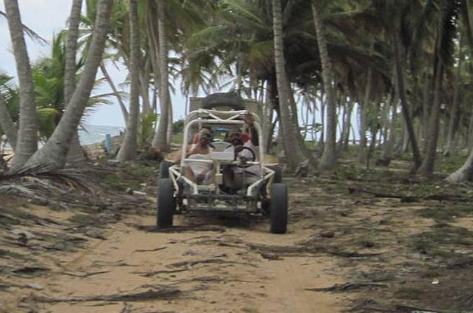 Punta Cana Full-Day Dune Buggy Adventure to Lemon Lagoon Bay Dominican Republic, Central America