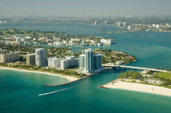 Miami helicopter tour in miami 126064