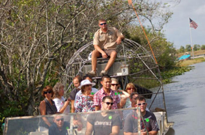 Miami super saver everglades airboat adventure and miami city tour in miami 108673