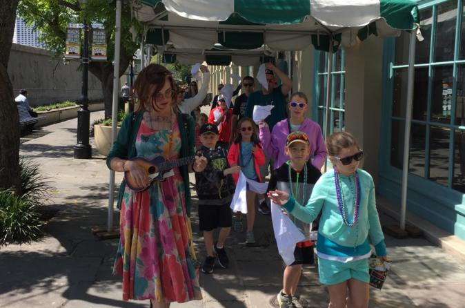 Private French Quarter Kids and Family Tour