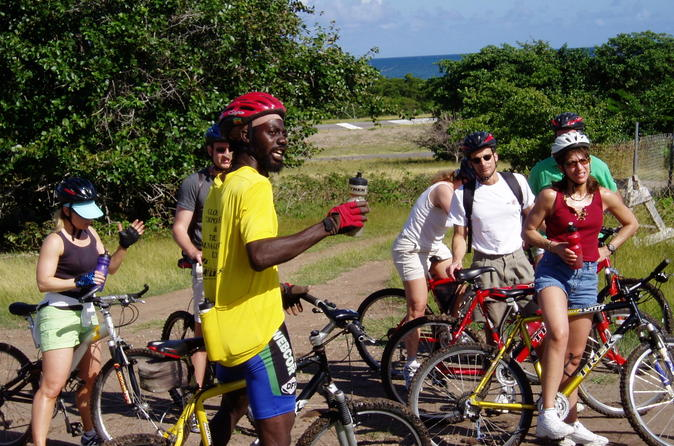 Early Morning Biking Tour on Nevis