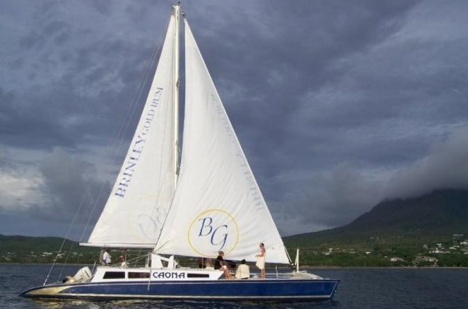 The Narrows Sail and Snorkel Tour from Nevis