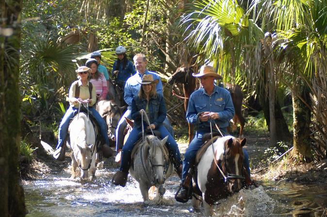 Aventura a cavalo no Eco-Reserve, Forever Florida