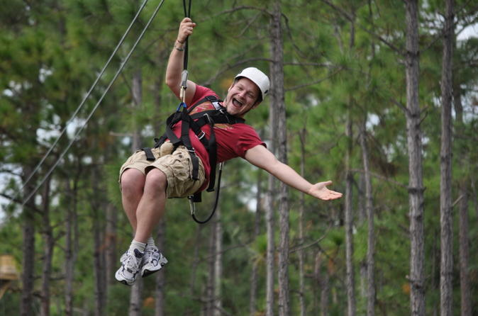 Zipline Safari at Forever Florida