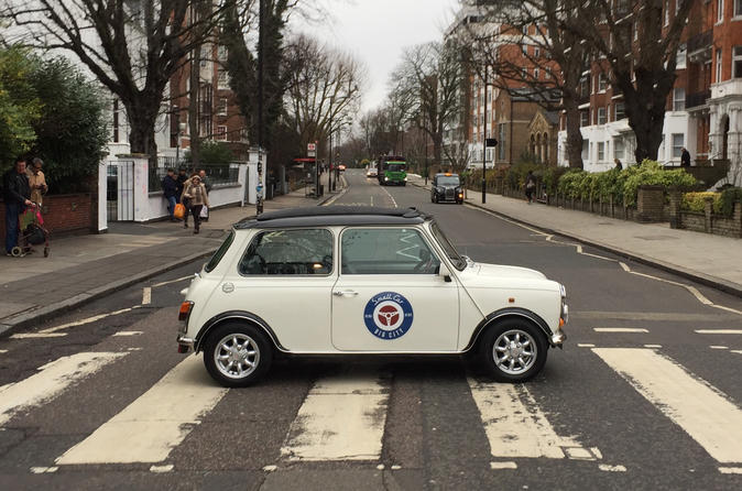 British Rock n Roll & Beatles Tour of London in a British Classic Car