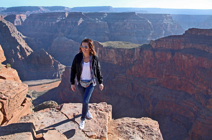 Grand canyon west rim air and ground day trip from las vegas with in las vegas 457697