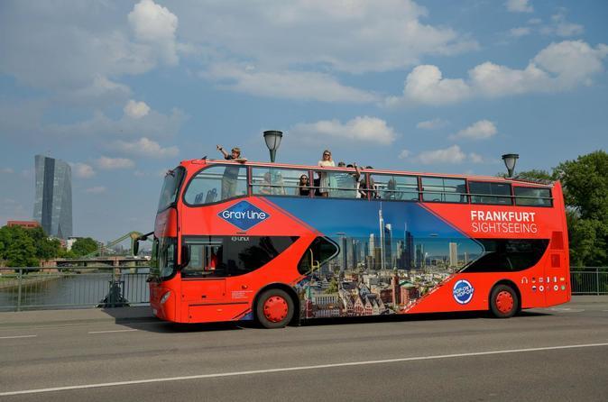 Excursão em ônibus panorâmico por Frankfurt