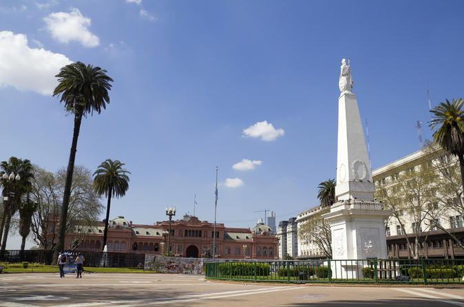 Buenos Aires supereconômico: Excursão turística na cidade e jantar com show de Tango