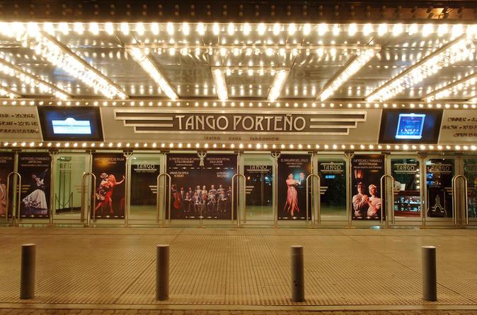 Tango Porteño Show, Tango Lesson And Dinner - Buenos Aires