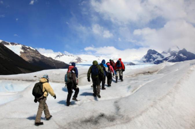 Excursão de aventura por El Calafate: Caminhada pelo Glaciar El Perito Moreno