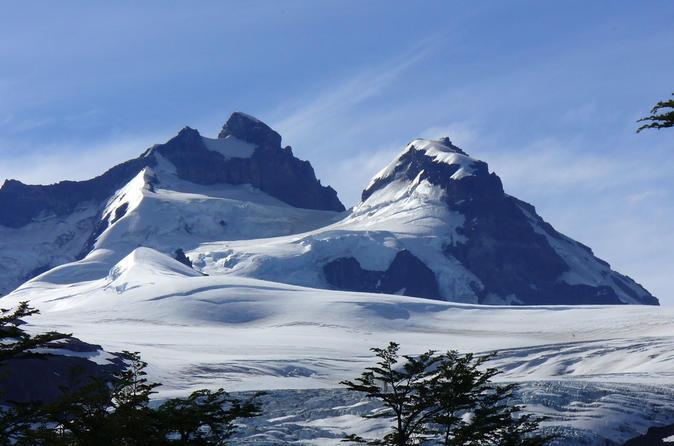 Excursão de um dia para o Monte Tronador e para a Geleira Negra