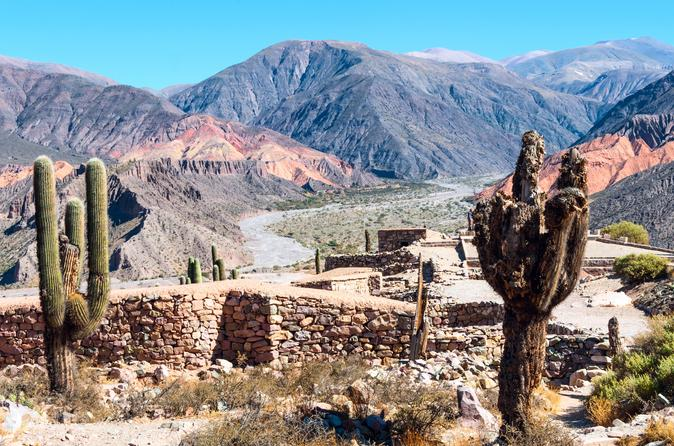 Salta super saver calchaqui valley and cafayate winery plus humahuaca in salta 156809