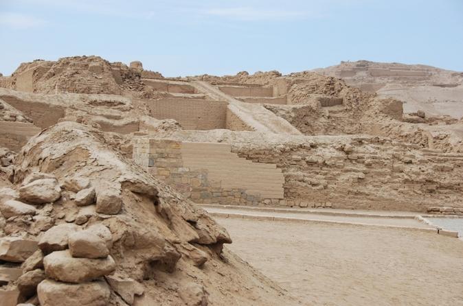 Excursão de meio dia pelo Templo de Pachacamac partindo de Lima