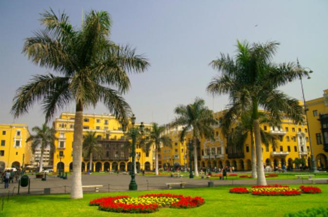 Excursão turística à cidade de Lima