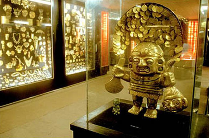 Mujica Gallo's Private Gold Collection and Weapons of the World Museum