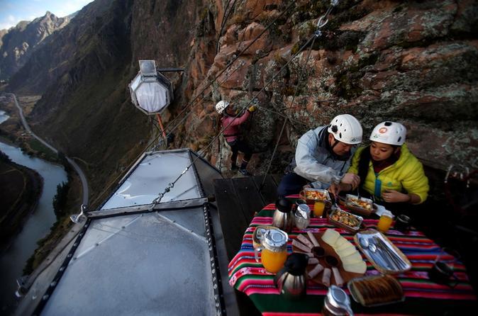 Skylodge Sacred Valley Overnight Adventure