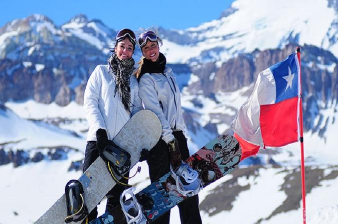 'Valle Nevado' Ski Day Tour including Ski or Snowboard Class