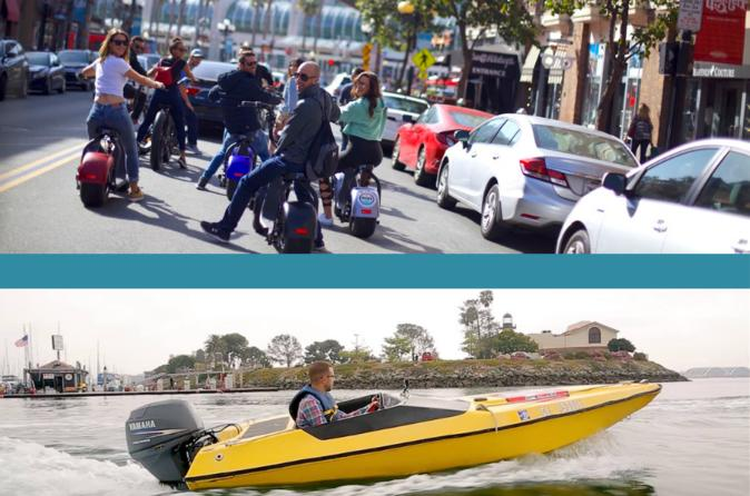Super Saver: iRide & Speed Boat Adventures Land & Sea Self Drive Adventure