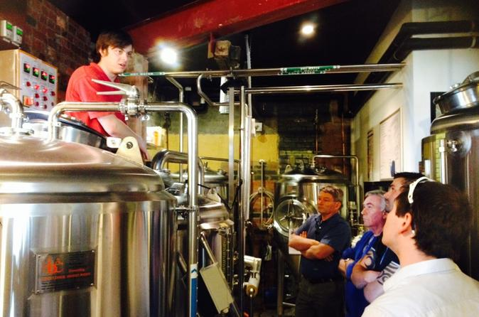 Melbourne Inner City Brewery Tour