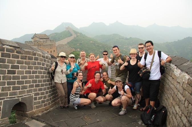 Viagem diurna para grupos pequenos à Grande Muralha da China, saindo de Pequim