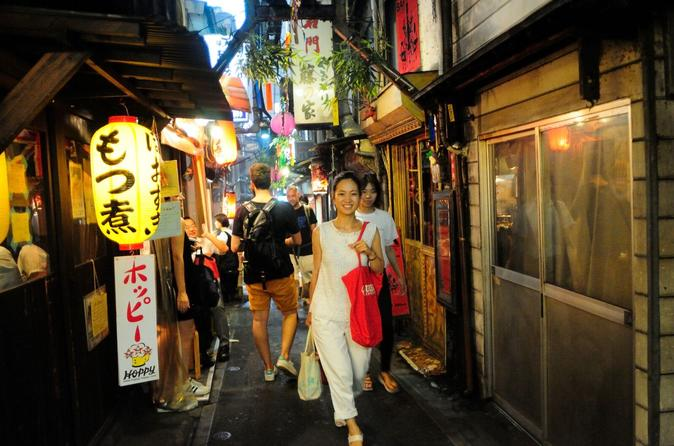 Shinjuku Drinks and Neon Nights Three-Hour Small-Group Tour