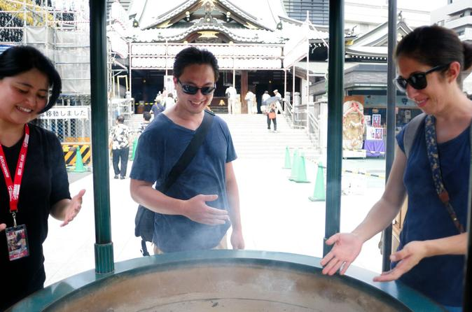 Temples and Shrines of Tokyo Small Group Tour Including Kiyosumi Garden Visit