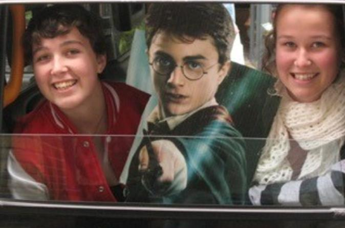 Privat rundtur: London Harry Potter-rundtur i taxi inklusive flodkryssning på Themsen