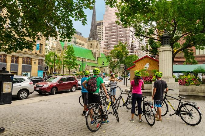 3 hour montreal guided bike tour in montreal 291488