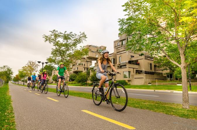 Independent tour of montreal by bike in montreal 290153