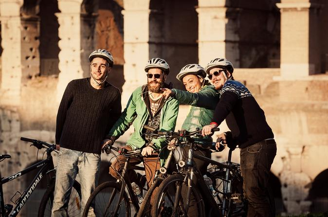Rome city small group electric assist bicycle tour in rome 176318