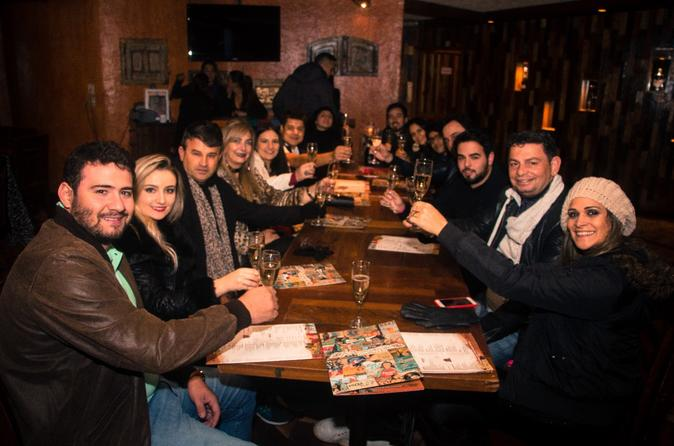 Nightlife Tour of Santiago, Chile with Drinks and Dancing
